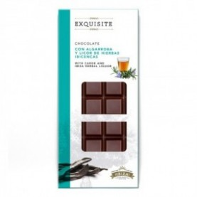 Chocolate con Algarroba y Licor de Hierbas 100gr