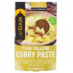 Pasta de curry amarillo (picante medio) 70gr
